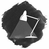 Table Lamp Icon.
