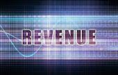 Revenue on a Tech Business Chart Art
