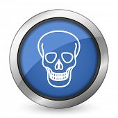 skull icon death sign