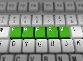 3D Keyboard - Word Fresh