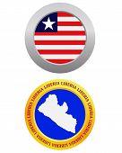 Button As A Symbol  Liberia