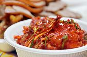 Kimchi (fermented cabbage) Korean Traditional Dish