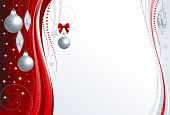 Background Christmas red