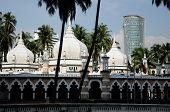 Kuala Lumpur Jamek Mosque in Malaysia