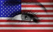 Eye With Flag