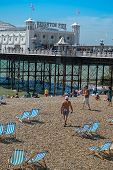 Brighton Pier On A Sunny Day