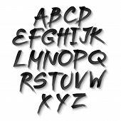 stock photo of alphabet  - Vector alphabet - JPG