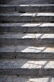 Gray Granite Staircase