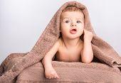 Baby Under Towel