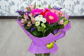 bouquet of flowers with gerbera