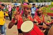 Traditional Music at Madura Bull Race, Indonesia