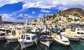 foto of hydra  - scenery of Greek islands  - JPG