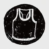 foto of vest  - Sport Vest Doodle - JPG