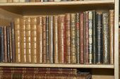 picture of annal  - a shelf full of old books detail - JPG