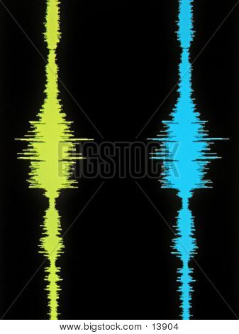 Audio Waveform poster