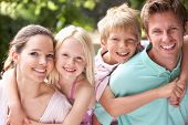 pic of 8-track  - Family Having Fun In Countryside Together - JPG