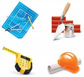 Vector Homebuilding & SA-Icon Set. Teil 3