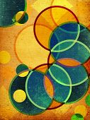 Abstract Retro Shapes