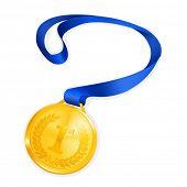 Gold Medal, vector