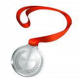 Silver Medal, vector