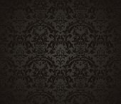 image of old-fashioned  - Seamless wallpaper pattern - JPG