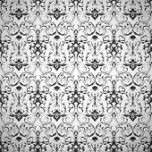 Black Wallpaper pattern, seamless