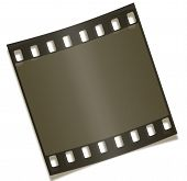 Blank Filmstrip Negative Photography