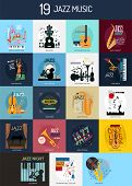 Jazz Music Conceptual Design | Jazz Poster Is Concept For Holiday, Event, Music, And Much More. poster