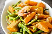 Asian Vegetable Cuisine in Coconut Milk