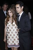LOS ANGELES - 27 september: Kate Mara; Max Minghella aankomen op de