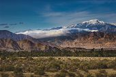 Snow Covered Mount San Jacinto poster