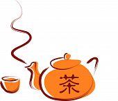 Tea Set .Eps