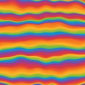 Hippie Psychedelic Vivid Rainbow Background. Applicable For Banners, Placards, Posters, Flyers poster