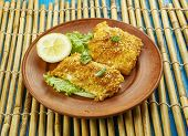 Coconut Crusted Cod poster