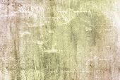 Abstract Light Brown, Beige Background With Scratches And Stains. Texture Of Old Plaster, Putty. Bri poster