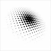 Dot Pattern Halftone Dots Design. Halftone Pattern Vector Background, Vector Background. Grunge Half poster