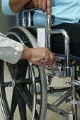 Locking Wheel Chair