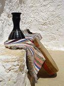 Ritual drums Berbers in Matmata, Tunisia