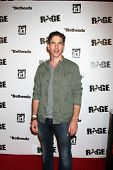 LOS ANGELES - SEPT 30:  Brian Dietzen arriving at  the RAGE Game Launch at the Chinatown's Historica