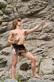 Young Man In Loin-cloth