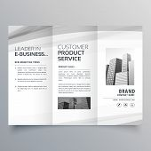 Trifold Brochure Design Template For Your Business poster