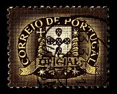 PORTUGAL -CIRCA 1975:A stamp printed in Portugal  shows image of Correios de Portugal is the nationa