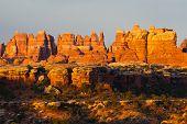 canyonland needles at sunrise