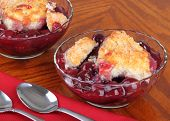 Cherry Fruit Cobbler