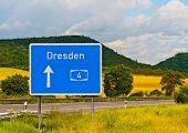 Autobahn 4 Dresden