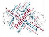 Panama Map And Cities
