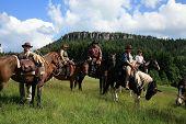 Carrera de caballos del Wester - viaje