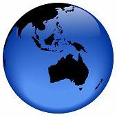 Globe View - Australia Nad Oceania