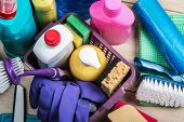Cleaning And Cleaning Supplies, Detergents And Cleaning Products poster