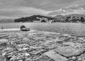 image of former yugoslavia  - The beautiful village of Cavtat in Croatia  - JPG